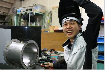 製造部 |キャリア2年 北住 悠馬 YUMA KITAZUMI